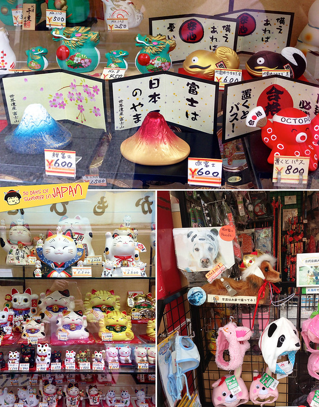 Asakusa - Nakamise Traditional Shopping Street - souvenirs