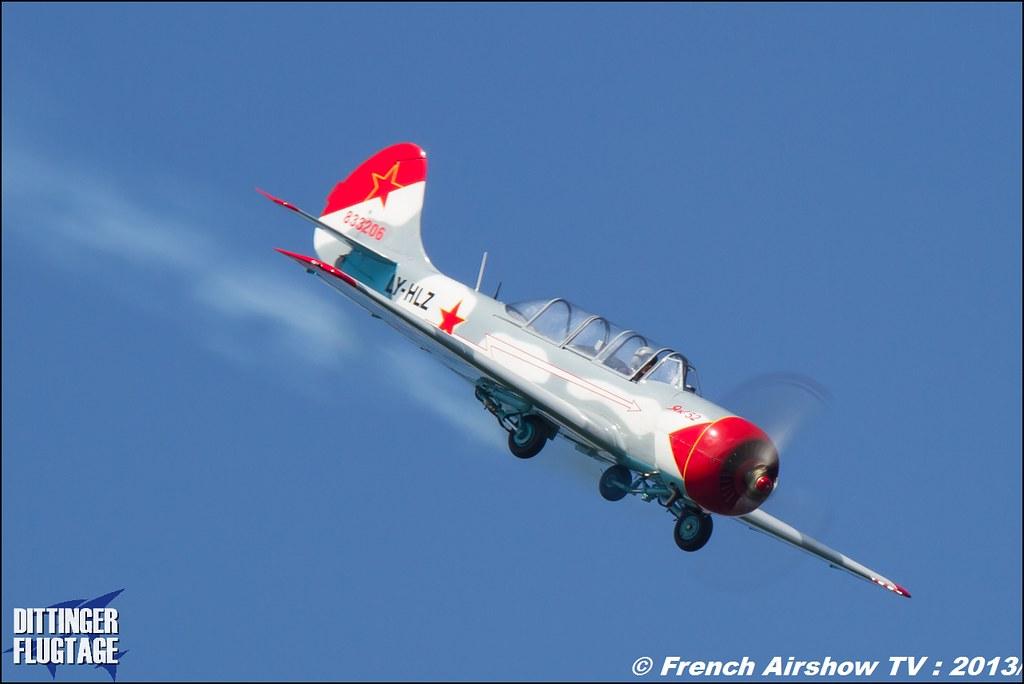Yak-52 LY-HLZ Dittinger Flugtage 2013