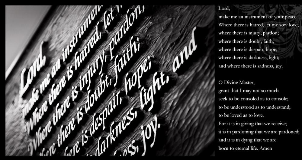 2013_1004 prayer of st francis