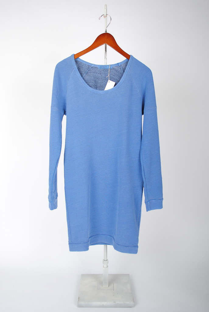 French Terry Sweatshirt Dress