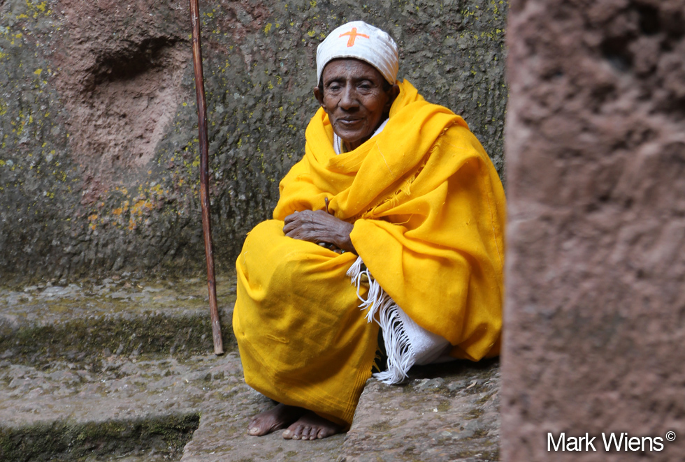 10. Ethiopian Orthodox Nun