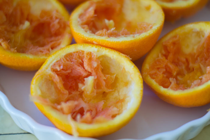 Mom's Sweet Potato Stuffed Oranges via LittleFerraroKitchen.com