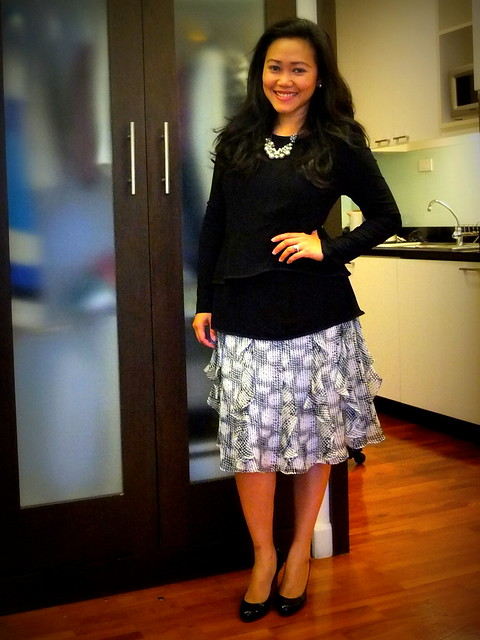 cmv skirt - narciso peplum - loubies1