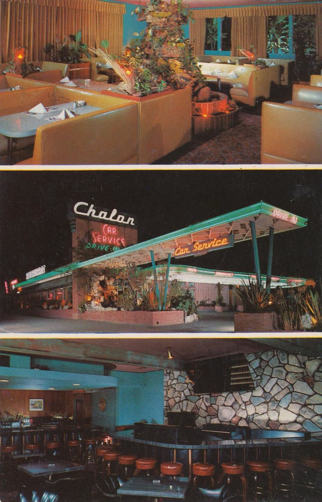 Chalon Restaurant - 1455 West Manchester Avenue, Los Angeles, California U.S.A. - date unknown