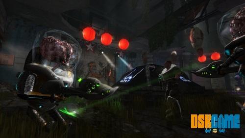 Alien Arena: Combat Edition en acción