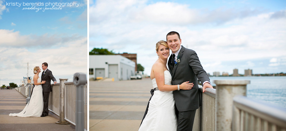 31 Port Huron Wedding at Bean Dock