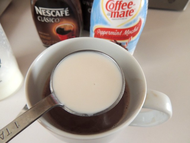#loveyourcup #shop #cbias Nescafe Clasico and Coffee-Mate Peppermint Mocha