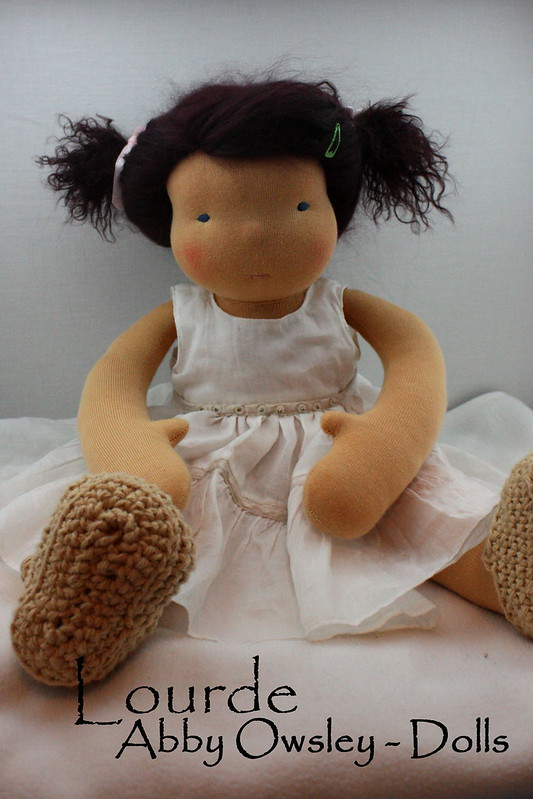 "Lourde - 16"" Natural Doll"