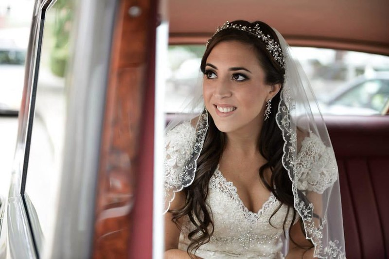 Lace inspired Swarovski crystal bridal headpeice