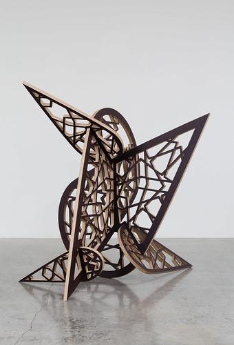 SG, El Sokareya, 2012, Plywood, 213.36x213.36x223.52cm_F