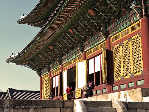 Palacio Real de Seúl construido durante la dinastía Joseon