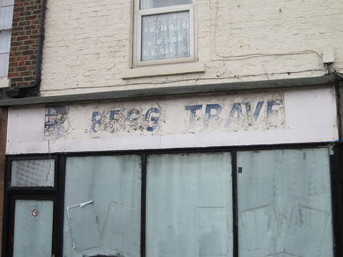 Begg Travel - Redcar Ghostsign
