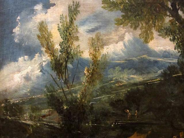 Alessandro magnasco 1667 1749 paysage avec figures au for Agence paysage lyon