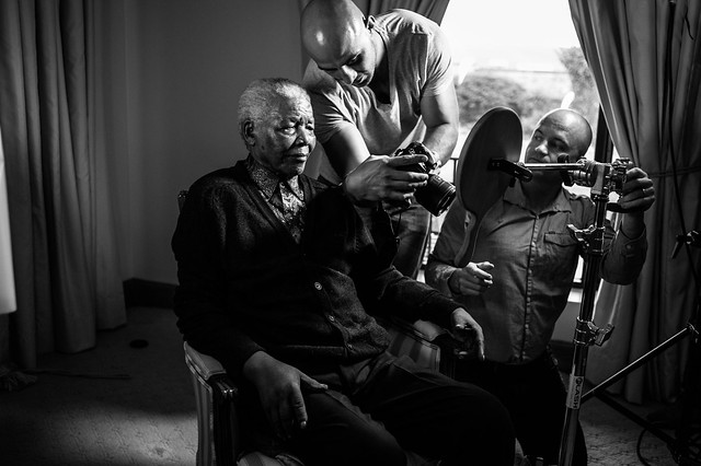 Nelson Mandela Shoot