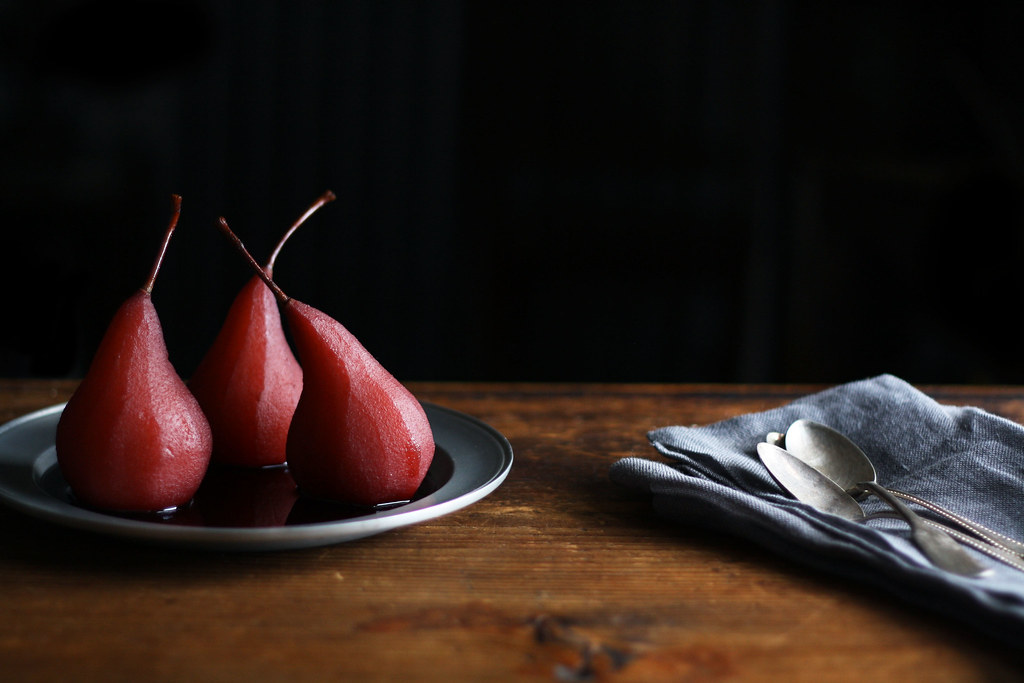 1 Batch of Poached Pears, 5 Breakfasts