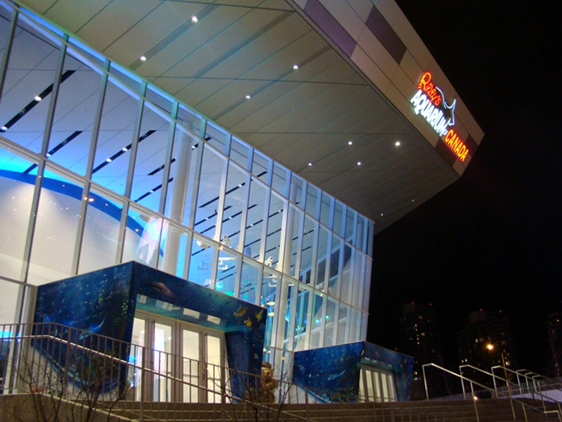 Ripley's Aquarium entrance