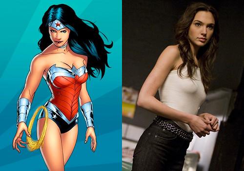131206(2) - 2015年DC英雄電影《超人 vs. 蝙蝠俠》(Superman / Batman)將由『玩命關頭』女星「蓋兒·加朵」飾演『神力女超人 Wonder Woman』!