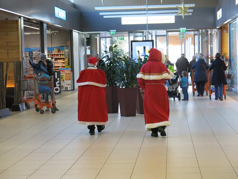 Santa in Migros