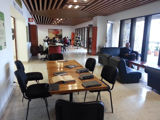 Game Room at the Bogota Library