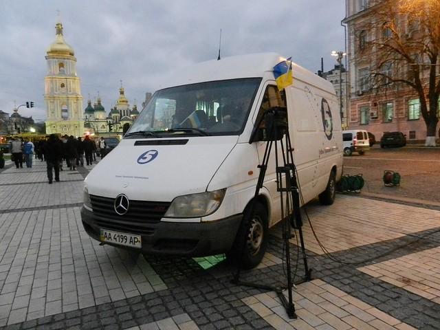 Евромайдан. ТВ и Святая София
