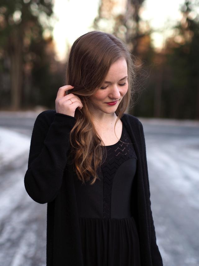 rh mickey dress black mesh
