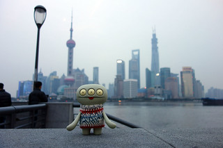 Uglyworld #2151 - Shanghai Goodbyes - (Project Cinko Time - Image 348-365)