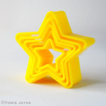 Tala star cookie cutters