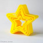 Tala star cookie cutters