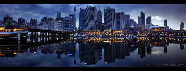 Darling Harbour Panorama || PRE-DAWN || SYDNEY