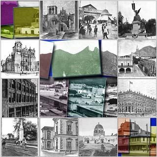 MONTERREY 1890-1900 Mosaic