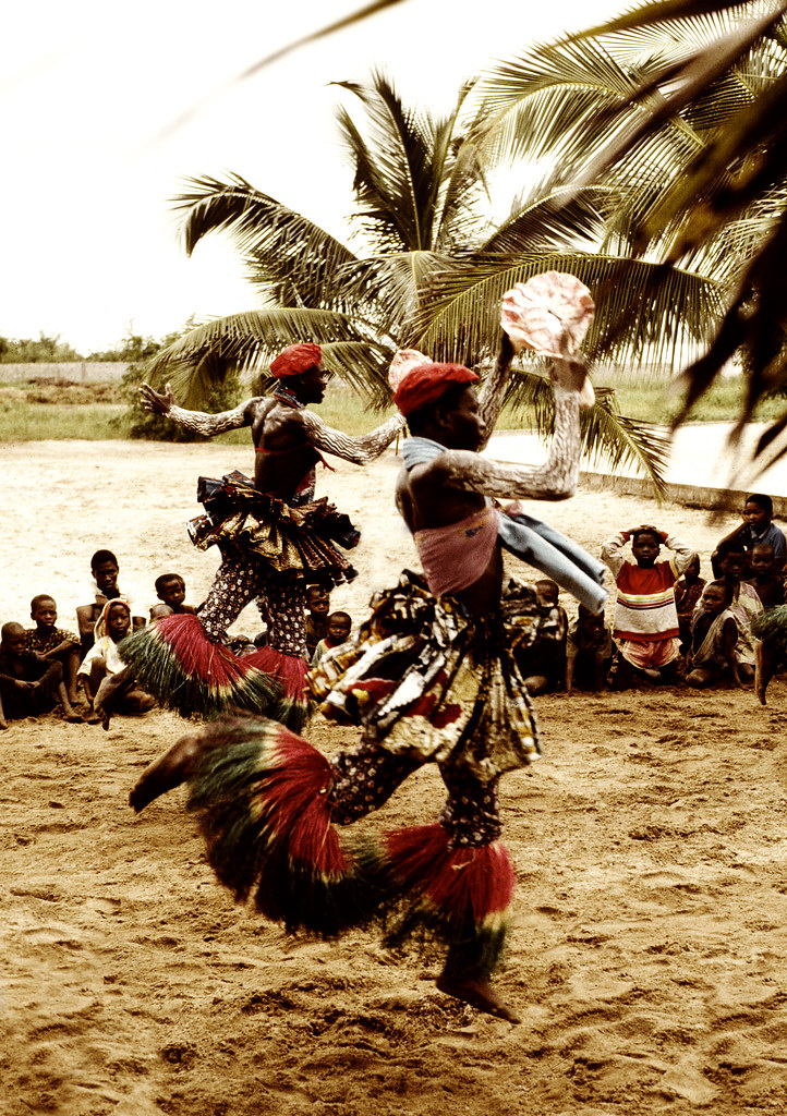 Ritual cerimony in Benin | Ritual cerimony in Lac Ahémé, Ben