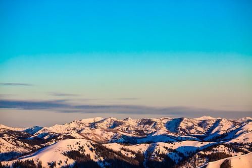 The Mountains of Sun Valley, Idaho