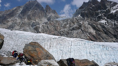 Zejście z Cho La Pass