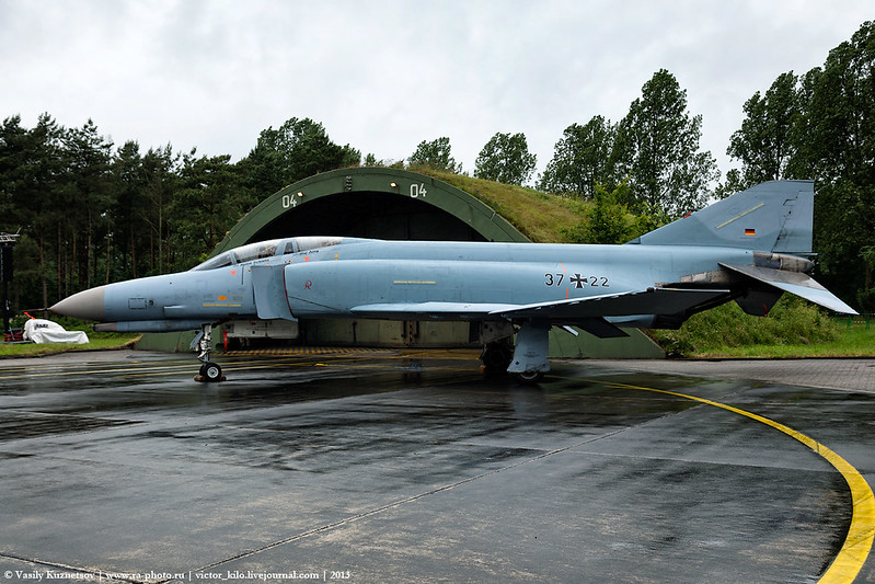 German Air Force McDonnell Douglas F-4F 37+22