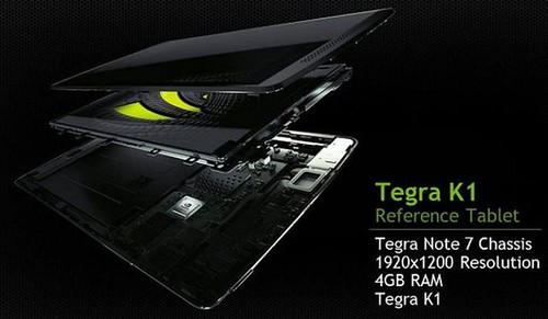 Nvidia Tegra Note K1 reference tablet