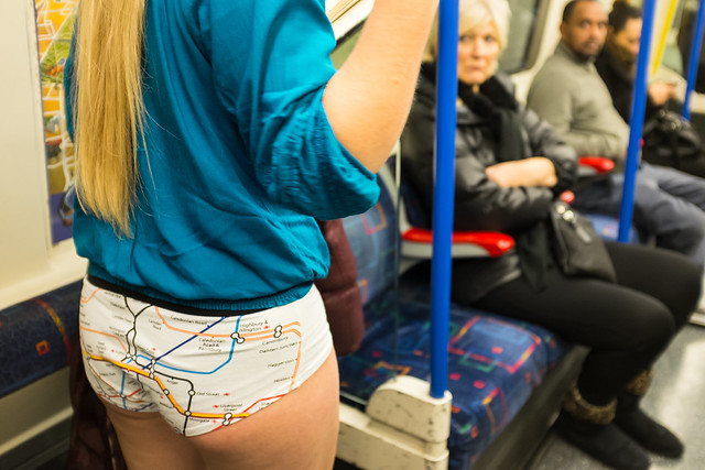 No Pants Day - London