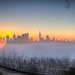 Foggy Hudson from Hamilton Park by Bee Nouveau