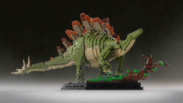 Bricksauria Stego