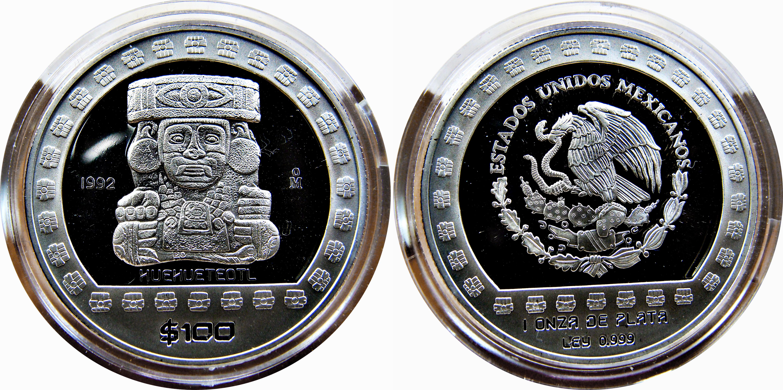 Colección Precolombina de onzas de plata del Banco de Mexico 12123531923_f4495b5674_o