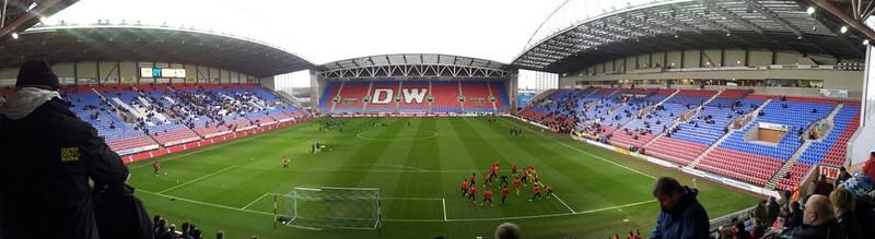DW Stadium Wigan