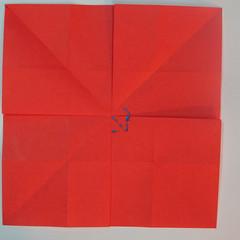 วิธีพับกระดาษพับดอกกุหลาบ 026