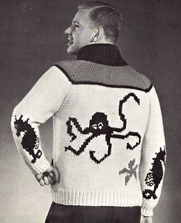 Mens Underwater diver sweater