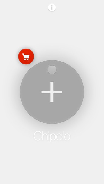 Chipolo iOS App - Add Chipolo Step 1