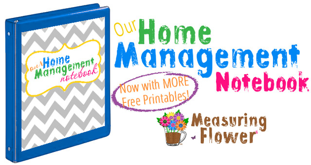 Home Management Notebook