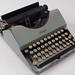 1924 Dayton Portable Typewriter