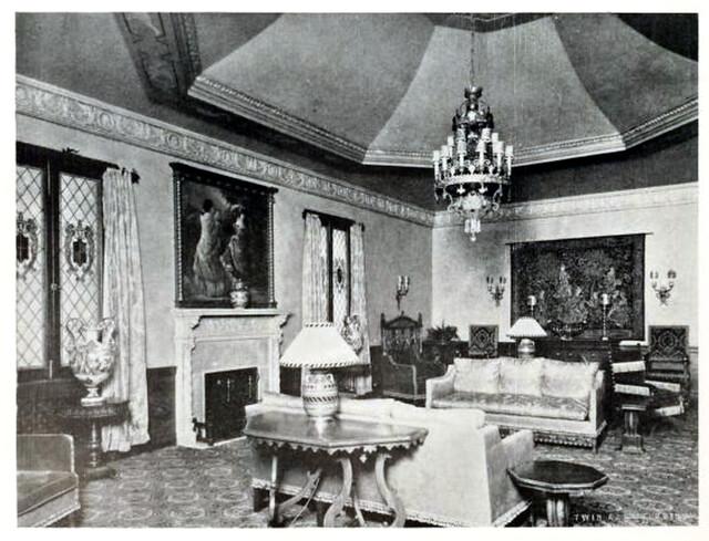 Patio Theatre Brooklyn New York In 1929 Main Lounge