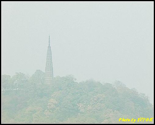 杭州 西湖 (其他景點) - 013 (古湧金門附近景點看杭州地標 保淑塔)