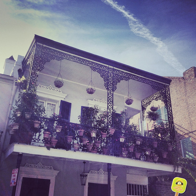 new orleans - arquitecture - balcony details