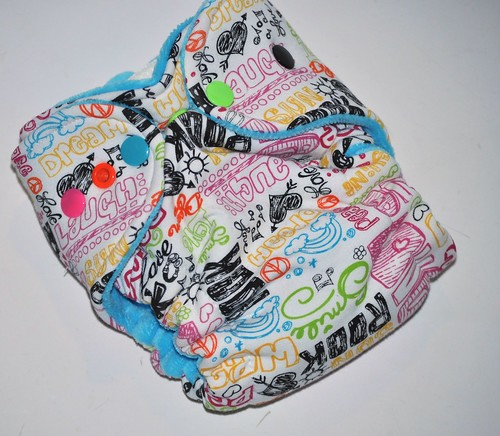 Bumstoppers Newborn Hybrid Fitted  Dream Love