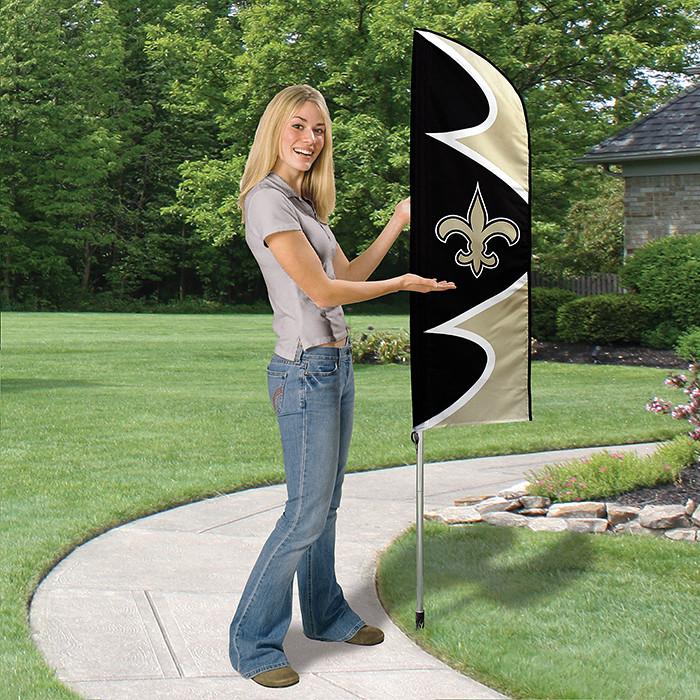 New Orleans Saints Short Feather Flag